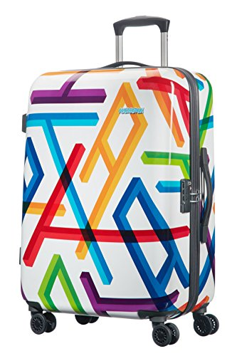 Samsonite 66549/2828 Jazz 2 Valigia, 64 litri, ABS, Multicolore