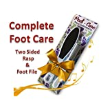 Premium Pedicure Kit Specially Sized Pedicure Rasp & Foot File Total Foot Care.Get Rid Of Cracked Heels & Hardened...