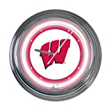 "Wisconsin 15"" Neon Clock at Amazon.com"