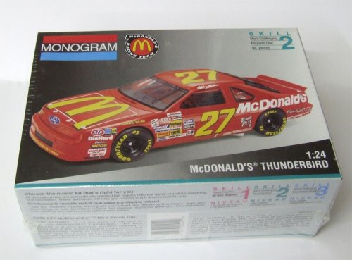 Monogram 2442 McDonald's Thunderbird Model Kit