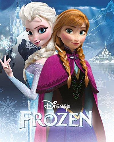 Poster Frozen Il regno di ghiaccio - Anna and Elsa, 40 x 50 cm