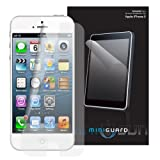 MiniGuard Screen Protector for Apple iPhone 5 (Front Only - Ultra Clear 3x Pack)