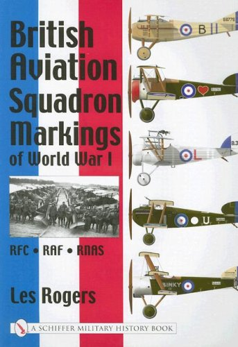 British Aviation Squadron Markings of World War I: Rfc - Raf - Rnas (Schiffer Military History Book.)