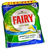 Fairy All in One 86 Lemon Dishwasher Tablets 1398g