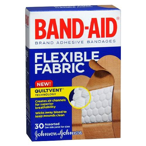Band-Aid Flexible Fabric Bandages, Assorted 30 ea(pack of 2?) парафин oneball x wax 5 pack assorted