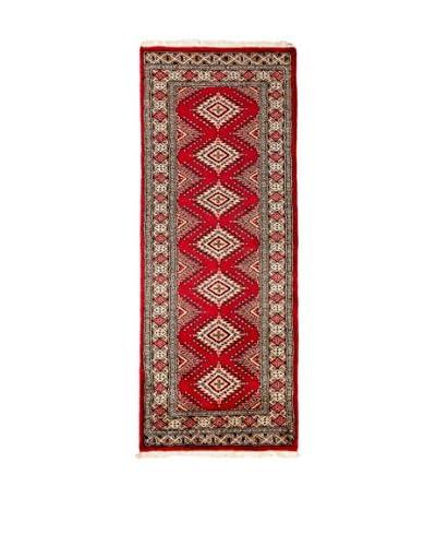 RugSense Teppich Kashmir rot/mehrfarbig 185 x 67 cm