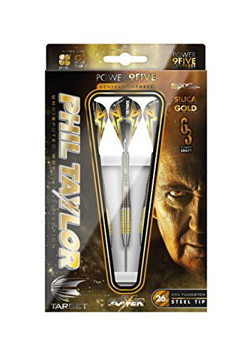 Target Darts - Phil Taylor Power 9Five 24g Generation 3 Steel Tip Darts (Target Sport Extreme Darts compare prices)
