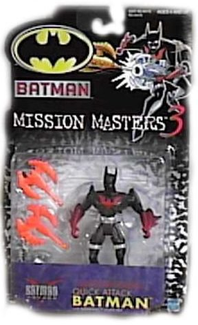 Batman Mission Masters 3 Quick Attack Batman Action Figure
