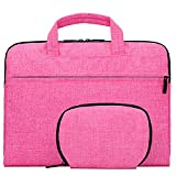 Samaz Netbook Laptop Macbook Sleeve Case Carry Bag Pouch Message Bags for MAC 13 14 15 inch Pro Air Retina. (Pink, 13/13.3 inch laptop)