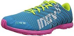 Inov-8 Women\'s F-Lite 192 Running Shoe,Aqua/Pink/Lime,7.5 E US