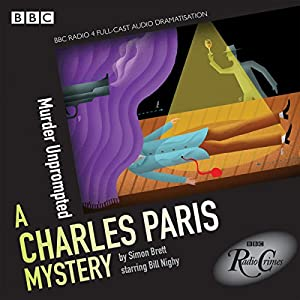 Charles Paris: Murder Unprompted Radio/TV Program