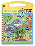 Mudpuppy Day at the Zoo Play Scene Sticker Set