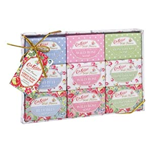 Cath Kidston Wild Flowers Assorted Guest Soap Collection 25 g (Pack of 9)