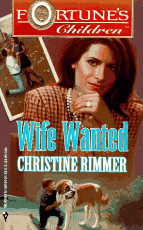 Wife Wanted (Fortune's Children), CHRISTINE RIMMER