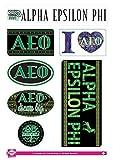 Alpha Epsilon Phi Sticker Sheet - Bohemian Theme. 8.5