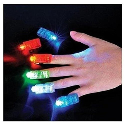 Novelty Place [Premium Quality] LED Party Finger Lights for Kids (40 Pcs) (Party Favors For Kids compare prices)