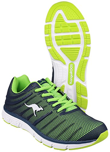 KangaROOS - Kangaroos Sport- und Freizeitchuh, scarpe da corsa  da unisex adulto, verde(grün), 42