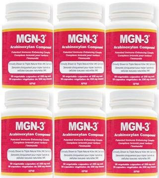 MGN-3 six bouteilles de 250 mg -Regular