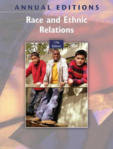 Annual Editions: Race and Ethnic Relations, 17/e