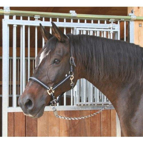 Halfter Mustang, Gr. 3 2fach verstellb., schw./silber