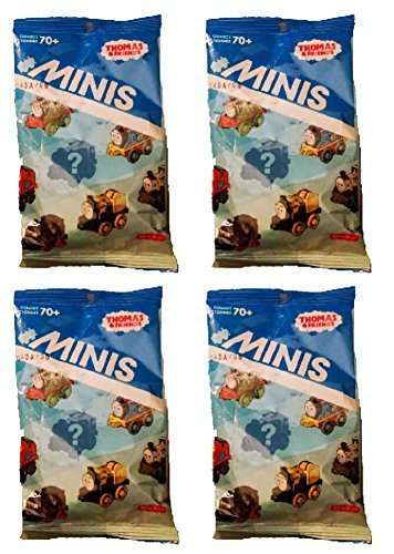 Thomas and Friends Minis Blind Bag, Set of 4 (Fisher Price Mini Bag compare prices)