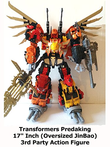 "Review: Transformers Predaking 17"" Inch (Oversized JinBao) 3rd Party Action Figure"