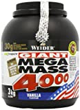Weider Nutrition Mega Mass 4000 Vanilla Powder 3000g