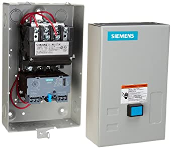 Siemens 14buc32bc heavy duty motor starter solid state for Manual motor starter with overload protection