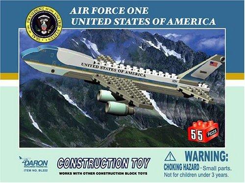 Air Force One 55 piece Construction Set