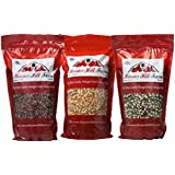 Hoosier Hill Farm All American Gourmet Popcorn Set, Red/White/Blue, 4.5 Pound