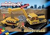 Ministeck - tracked excavator + mini site dumper