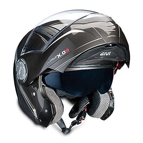 Casque Moto Intégral GIVI X.09 MODULAR gris - S