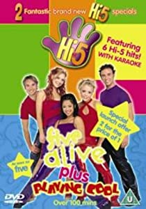 hi5 five aliveplaying cool dvd amazoncouk dvd