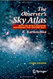 img - for By Erich Karkoschka The Observer's Sky Atlas: With 50 Star Charts Covering the Entire Sky (3e) book / textbook / text book