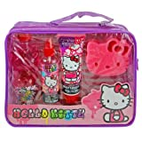 Hello Kitty Body Lotion Set Popular Cute in PVC Bag