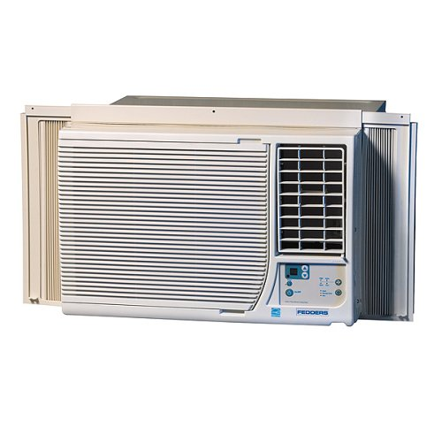 Fedders 12 000 btu 115v window air conditioner with heat for 12000 btu ac heater window unit