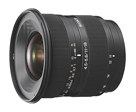Sony SAL-1118.AE Zoom standard DT 11-18 mm F4.5-5.6 Lentille ED Noir