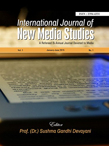 International Journal of New Media Studies: A Refereed Bi-annual Journal devoted to Media PDF