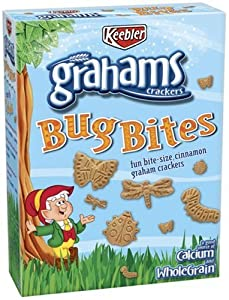 Keebler Graham Bug Bites 11-Ounce Boxes (Pack of 6)