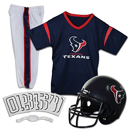 franklin-sports-fra-15701f34-y2-houston-texans-youth-nfl-deluxe-helmet-and-uniform-set-medium