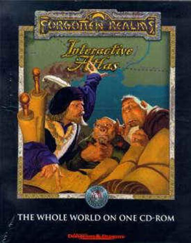 Advanced Dungeons & Dragons Forgotten Realms: Interactive Atlas