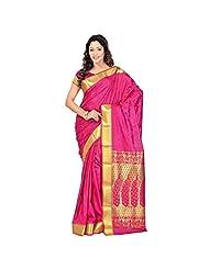 Mega Wholesale Bazaar Kanchipuram Nandani Art Silk Paithani Theme Rich Zari Pallu Saree