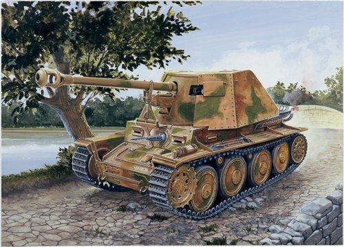 Italeri 7060 1:72 SdKfz 138 PzJager Marder III Ausf H Tank