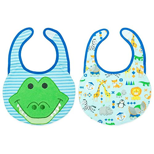 Disney Baby Reversible Feeder Bib Frog - 1
