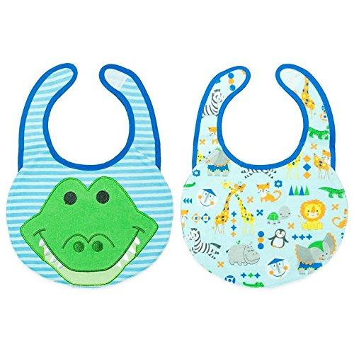 Disney Baby Reversible Feeder Bib Frog - 1