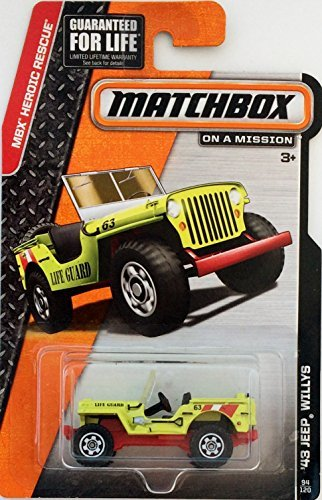 Matchbox MBX Heroic Rescue '43 Jeep Willys 94/120 - 1