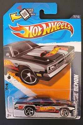 HOT WHEELS 1971 DODGE DEMON 177/247 NO. 7 OF 10 IN SERIES HW RACING '12