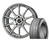 [235/45R18]BRIDGESTONE / BLIZZAK VRX スタッドレス [2/-][HOT STUFF / CROSS SPEED PREMIUM R (MSL) 18インチ] スタッドレス&ホイール4本セット レクサスGS(10系 ※エアセンサー装着車は適合しない場合があります。お問い合わせ下さい)、レクサスRC(10系 ※エアセンサー装着車は適合しない場合があります。お問い合わせ下さい)、マークX(130系 ※ビックキャリパー車 3.5L&Gz全車)