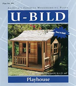woodworking project paper plan for playhouse no 881