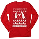 Happy Family Clothing Geeky Ugly Christmas Sweater Men's Long Sleeve T-Shirt